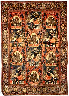 A Persian Senneh rug BB4204
