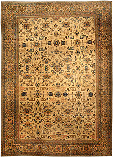 A Persian Sultanabad rug BB3566