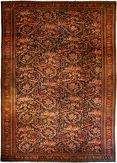 A Persian Sultanabad carpet BB0581