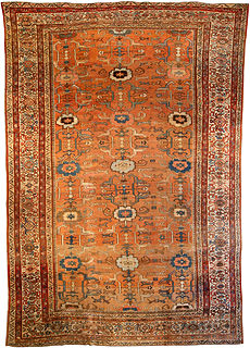 A Persian Sultanabad rug BB0537