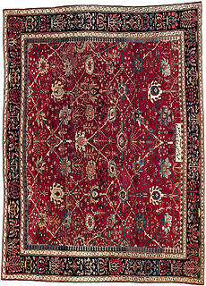 A Persian Sultanabad rug BB1325