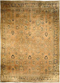 A Persian Tabriz rug BB0580