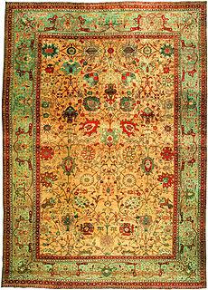 A Persian Tabriz carpet BB3235