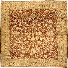 A Persian Tabriz rug BB4639