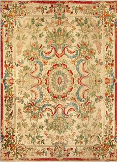 A European Silk Table Carpet
