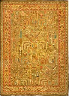 A Turkish Oushak rug