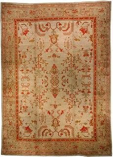 A Turkish Oushak rug BB2383