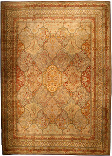 A Turkish Oushak rug BB4544