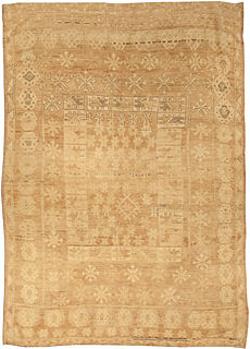 A Turkish Oushak Rug BB5000