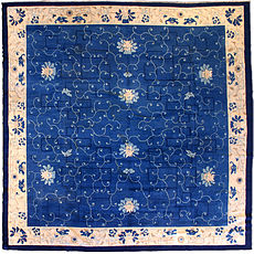 A Chinese carpet BB3154