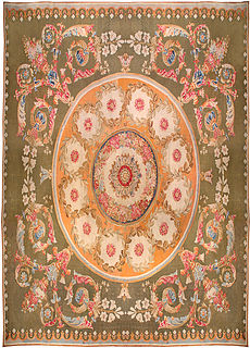 A French Aubusson rug BB0180