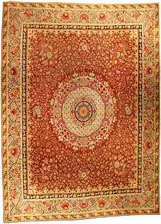 A French Aubusson rug BB0449