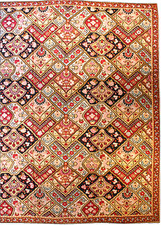 A French Aubusson rug