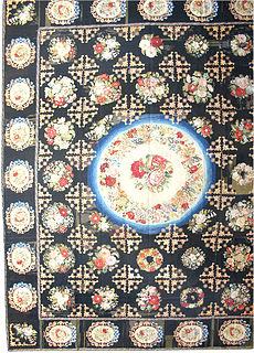 A Needlework rug BB2397