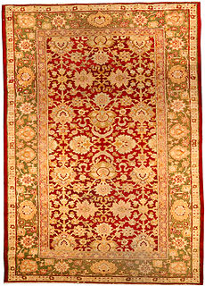 An Indian Amritsar rug BB3099