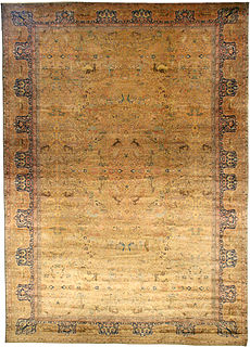 An Indian rug BB4261