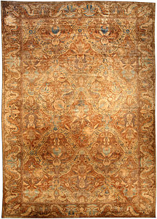 An Indian rug BB3227
