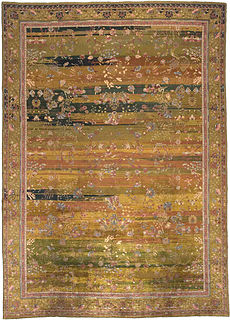 An Indian rug BB3537
