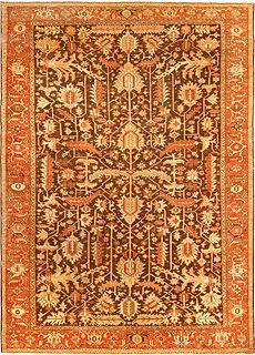 A Persian Heriz rug BB4542