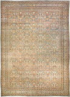 A Persian Kirman Rug BB2249
