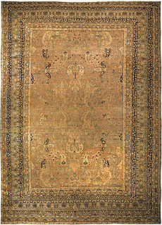A Persian Kirman rug BB4579