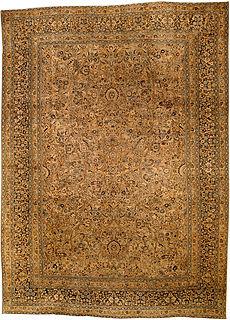 A Persian Meshad rug