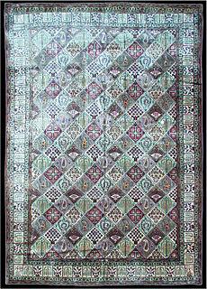 A Persian Qum rug BB1000