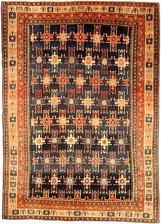 An antique Persian Senneh rug BB4509