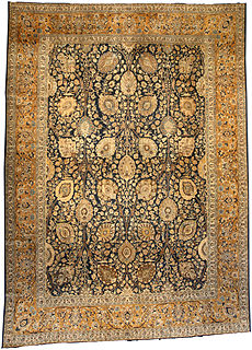 A Persian Tabriz carpet BB3746