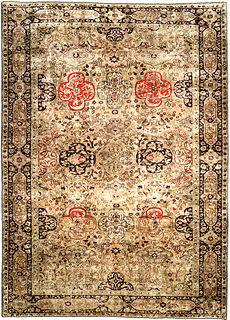 A Silk Kayseri Rug BB3349