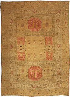 A Turkish Oushak rug