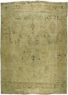 A Turkish Oushak rug BB3226