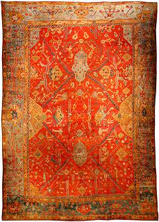 A Turkish Oushak rug BB1378
