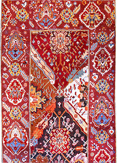 A Turkish Oushak rug (size adjusted) BB2987