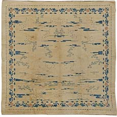 An Antique Chinese Rug BB5492
