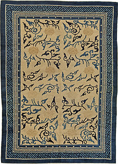 An Antique Chinese Rug BB5493