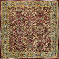 An Indian Agra rug BB5599