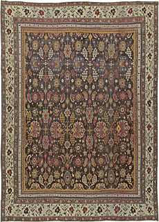 An Indian Agra carpet BB5556