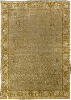 An Antique Indian Amritsar Rug BB5462