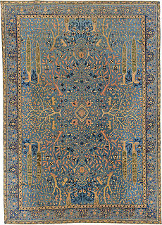 An Antique Indian Rug BB5490