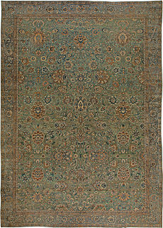 A Persian Kirman rug BB5588