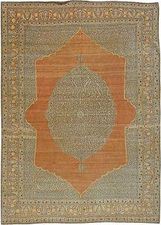 An Antique Persian Tabriz Rug BB5472