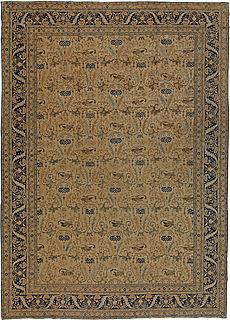 An Antique Persian Tabriz Rug BB5473