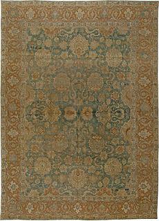 An Antique Persian Tabriz Rug BB5502