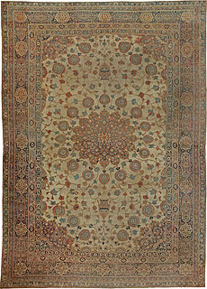 A Persian Tabriz rug BB5576