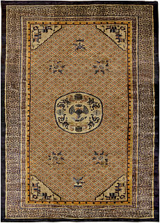 A Chinese Silk Rug BB5240