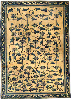 A Chinese carpet BB4245