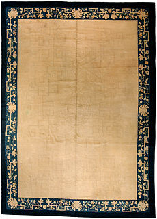 A Chinese carpet BB3225