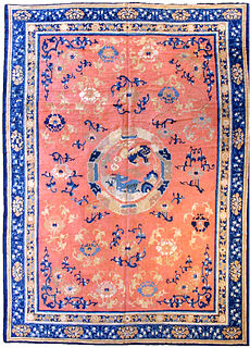 A Chinese carpet BB2794