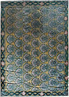 A needlepoint carpet BB0638